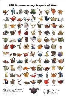 Poster, 100 Contemporary Teapot of West