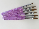 Round Point Brushes Set
