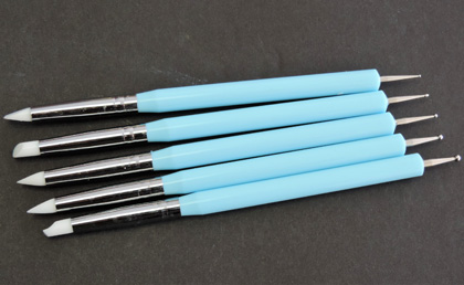 Rubber Pen with dotting tools