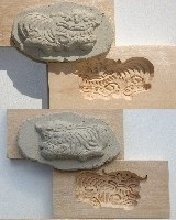 Wood Mold, Lion