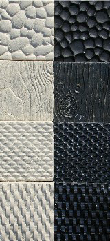 Texture mat, Large Size set, Rubber