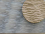 Texture mat, Silicon Water waves