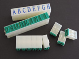 Rubber Stamps,Letters