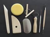 Pottery Tools, 8 pcs/set
